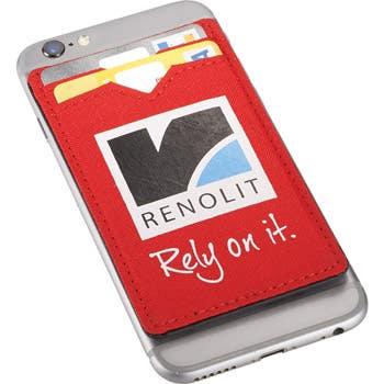 Dual Pocket RFID Custom Phone Wallet