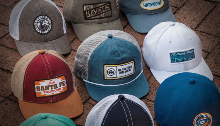 a3a1687e Custom Embroidered Hats Do The Heavy Lifting for Your Business ...