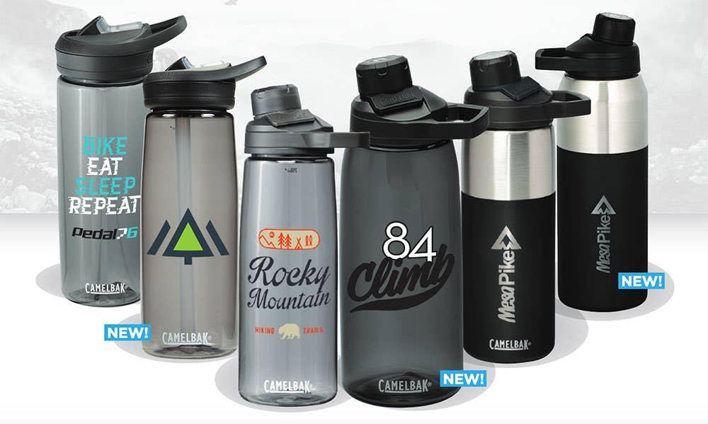 Custom CamelBak Water Bottles