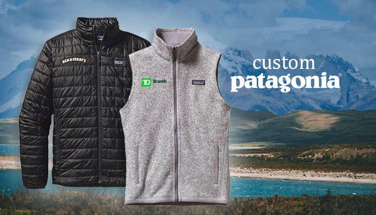 Custom Patagonia Jackets, Sweaters & Backpacks
