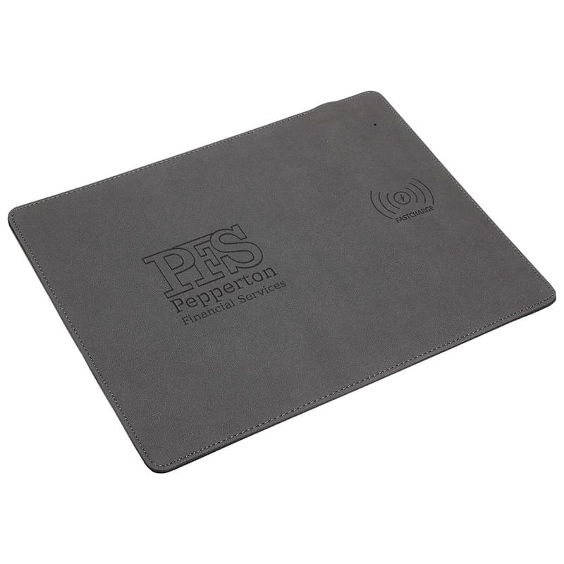 Branded Qi Wireless Charging Mouse Pads