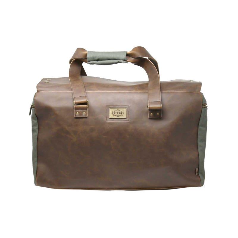 Custom Leather Duffel Bags