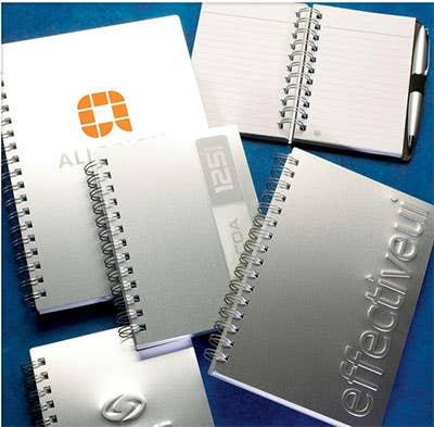 Custom Metallic Journals