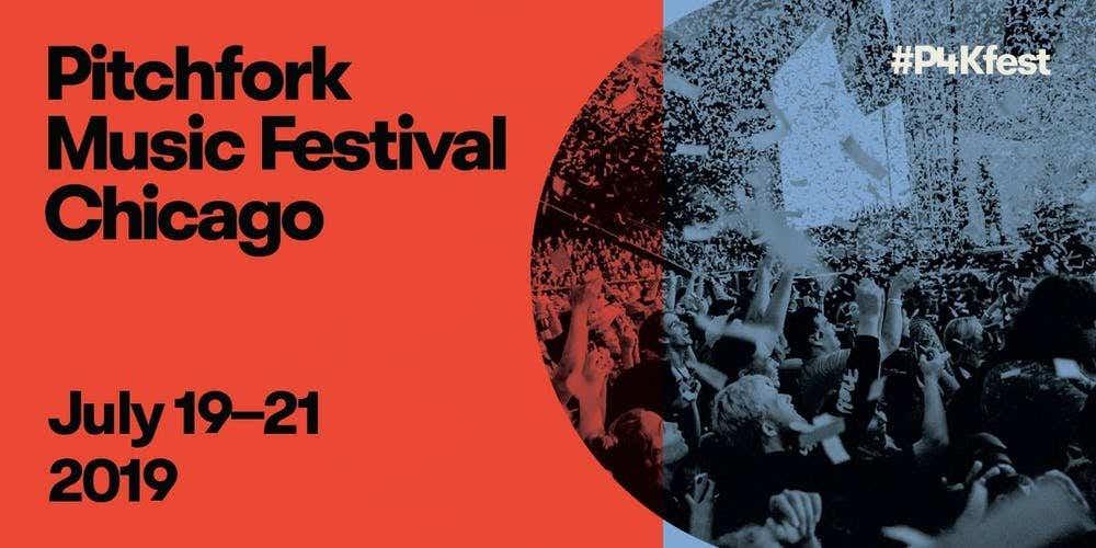 Pitchfork Music Festival 2019 Branding