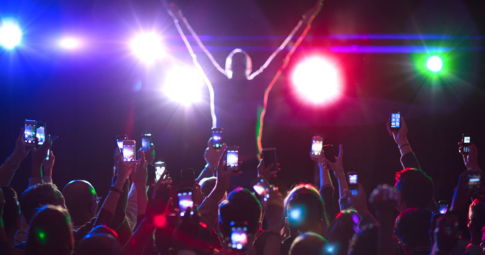 Social Media at Concerts