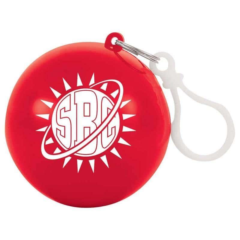 Custom Rain Poncho Ball