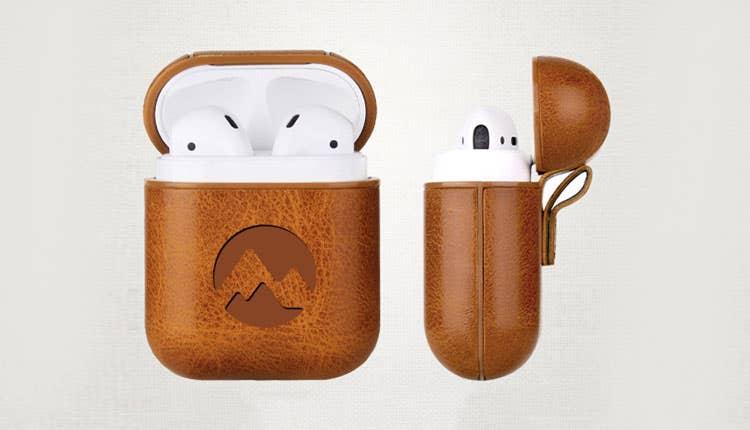 Custom Vegan Leather Apple AirPods Cases