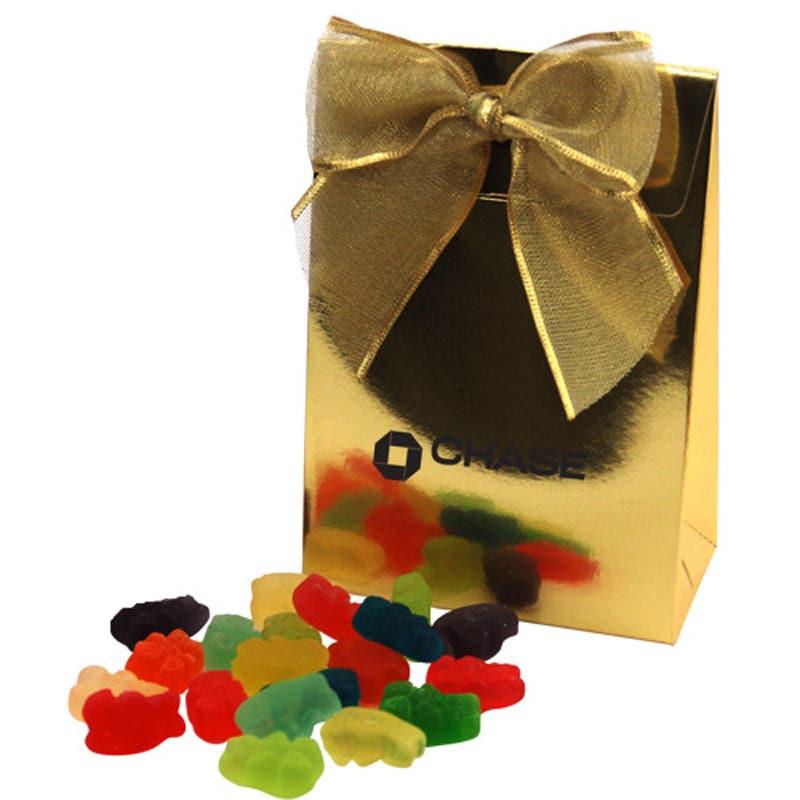 Custom Gable Box with Gummy Bears