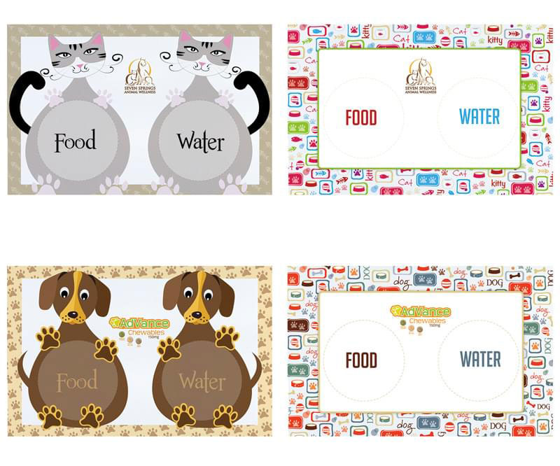 Custom Pet Feeding Mat