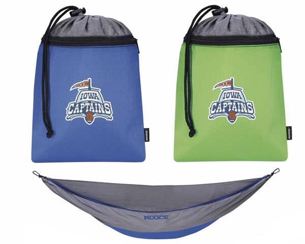 Custom portable hammock