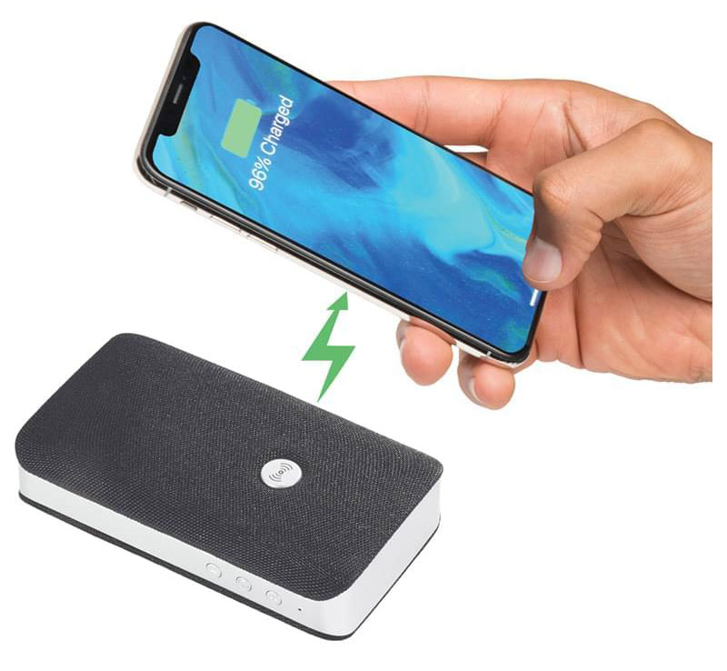 Custom Bluetooth Speaker & Wireless Charger