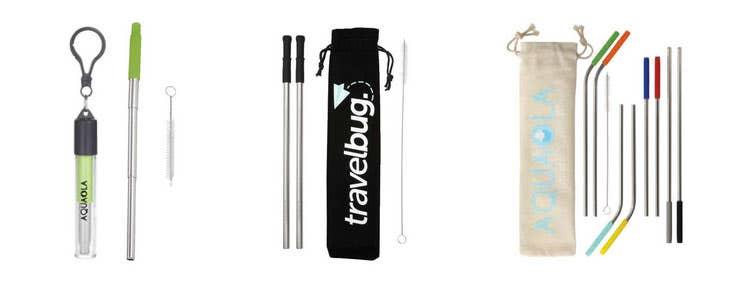 Custom Reusable Straws