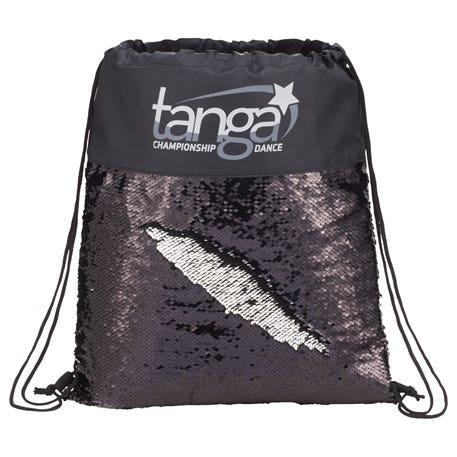 Custom Sequin Drawstring Bags