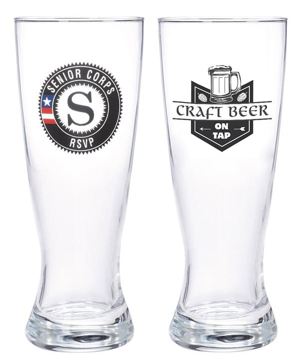 Custom Brewery Promotional Items 20 oz Pilsner Glasses