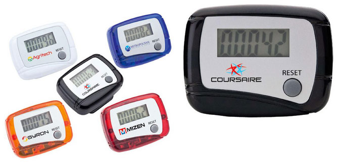 Custom Printed Pedometers With Your Logo