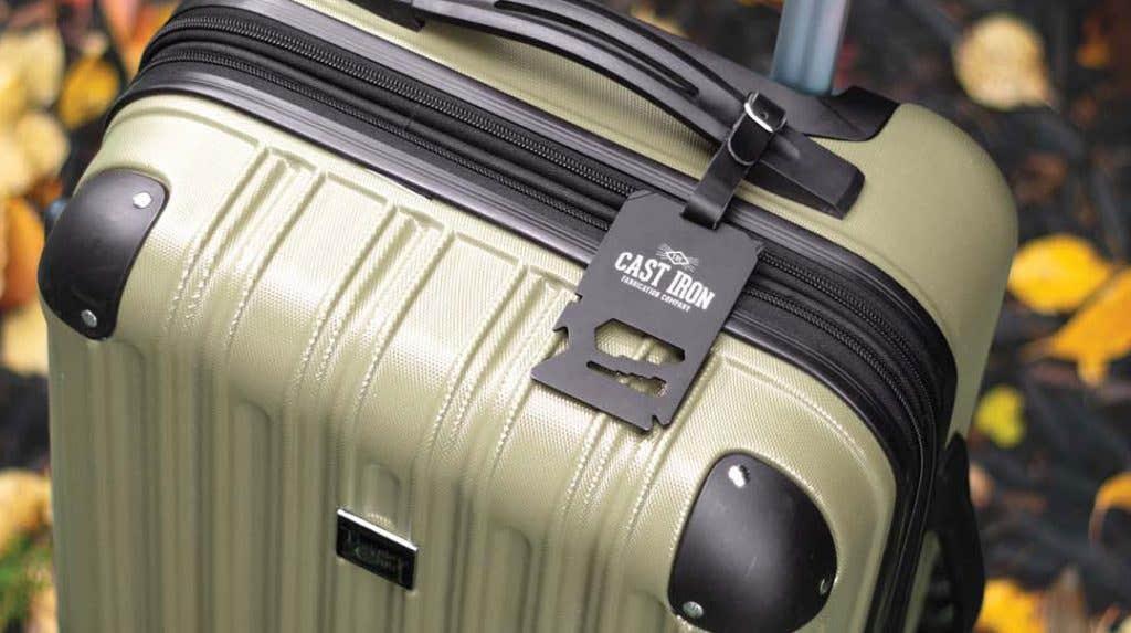 Custom Multi-tool Luggage Tag