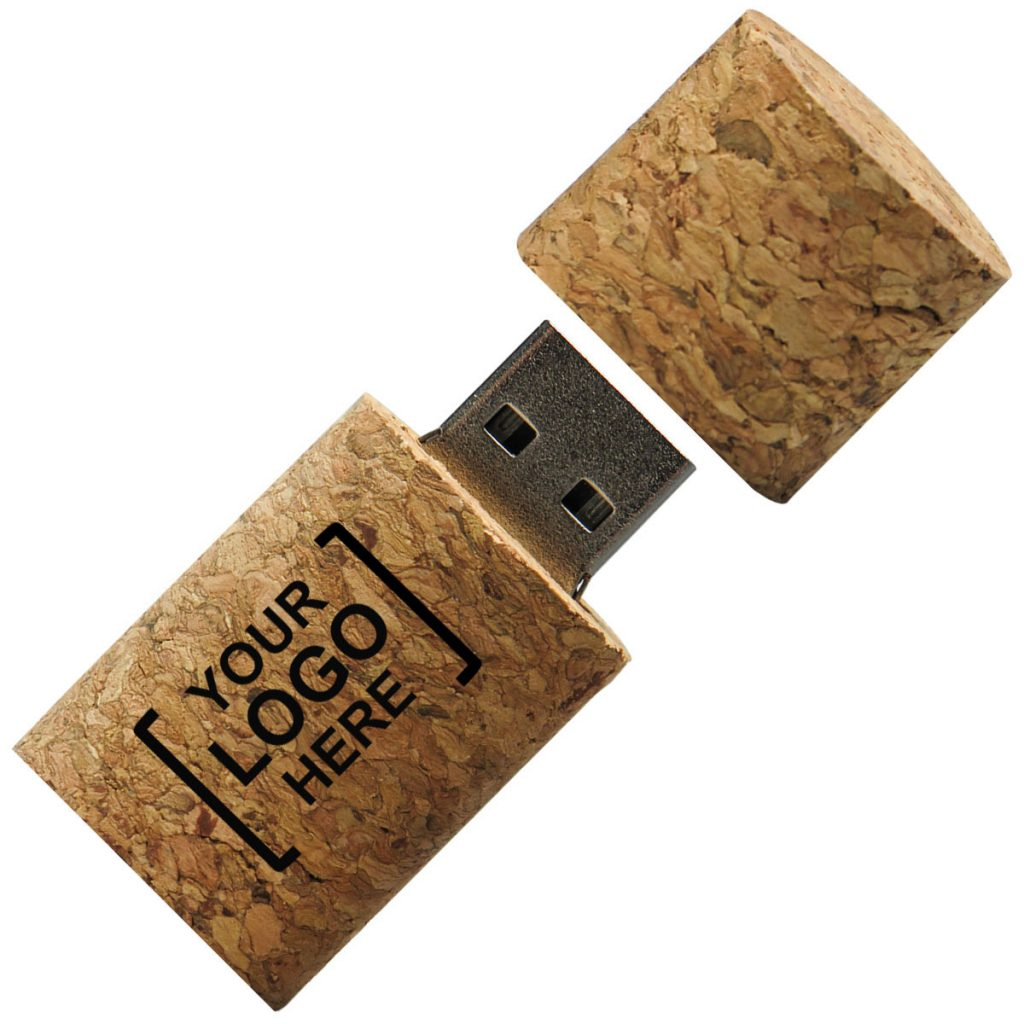 Custom Eco-Friendly Cork USB Flash Drive