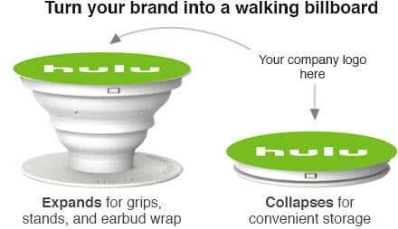 Custom PopSockets Offer Great Branding